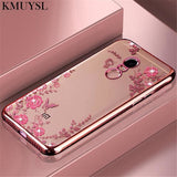 Luxury Plating Silicone Soft Case for 5 Plus Note 7 5A Prime 4X 4 6A 6 Pro Flower Cover - My Web Store Shopping
