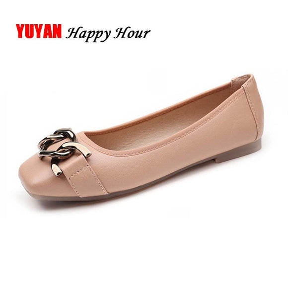 Luxury Shoes Women Flats Slip on Loafers Fashion Brand Womens Flats Elegant Ladies Shoes High - My Web Store Shopping