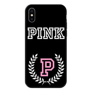 Load image into Gallery viewer, Luxury fashion Victoria PINK Case For iPhone XS MAX 6 6SPlus 7 7Plus 8 8Plus X XS XR black - My Web Store Shopping