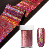 Marble Design Metallic Foil For Nail Slider Holographic Transfer Wrap Sticker Starry Manicure Decor - My Web Store Shopping