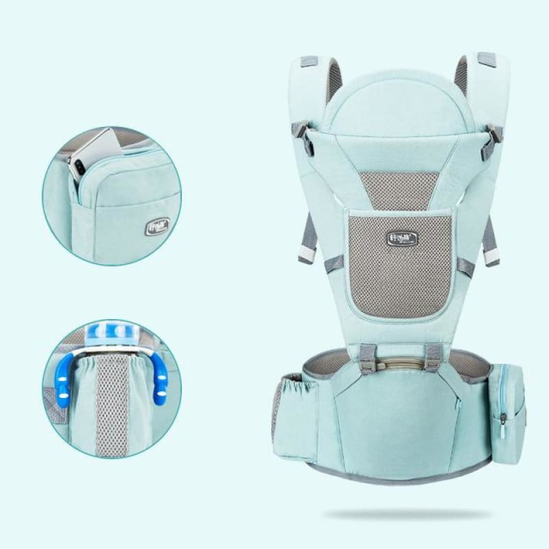 Load image into Gallery viewer, Ergonomic Baby Carrier Breathable Front Facing Infant Baby Sling Backpack Pouch - My Web Store Shopping