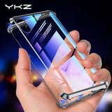 Magnetic Case for iPhone X XS Max XR YKZ Metal Magnet Adsorption Tempered Glass Phone Protective - My Web Store Shopping