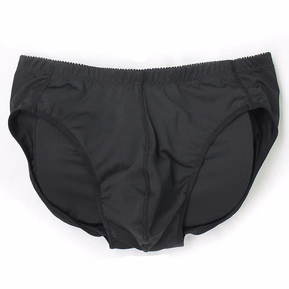 Men's Padded Underwear Lifting Butt Men's Underwear Panties Front + Back Hips Removable Push Cup - My Web Store Shopping
