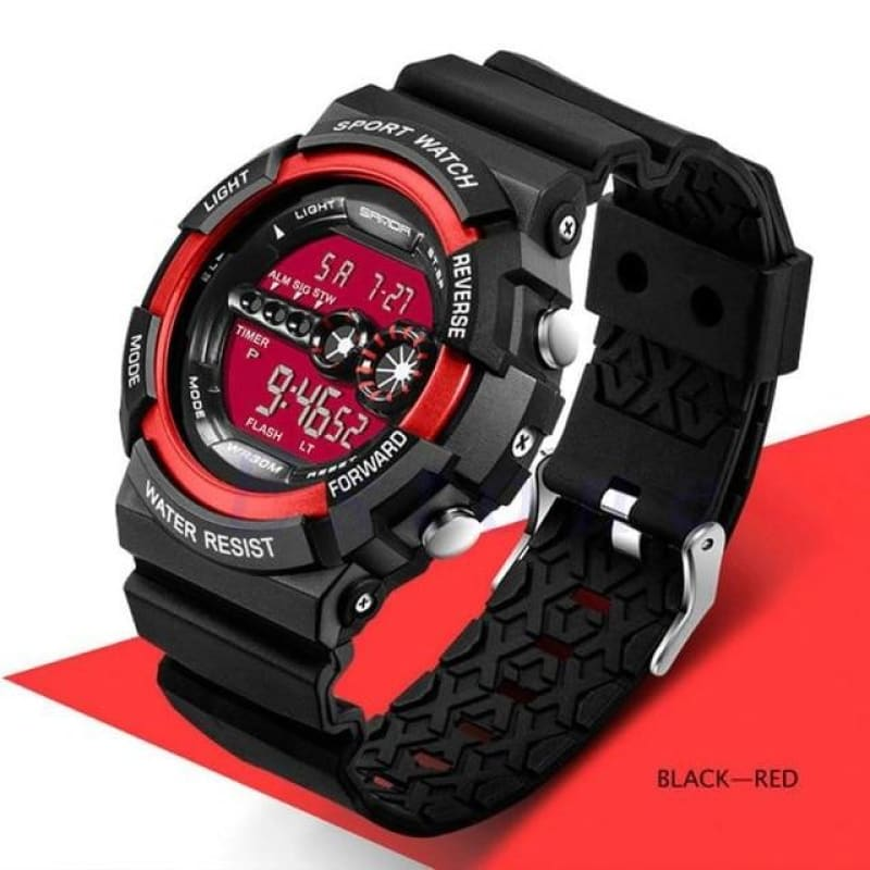 Load image into Gallery viewer, Men's Stainless Steel LED Digital Date Alarm Watch Waterproof Sports Army Quartz Watches - My Web Store Shopping