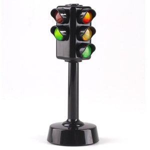 Load image into Gallery viewer, Mini Traffic light Color lamp traffic signal for kids Toys sound and light puzzle early education - My Web Store Shopping