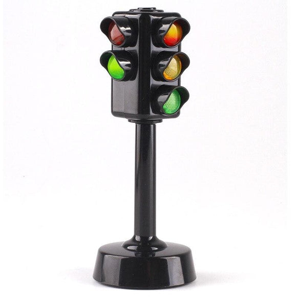 Mini Traffic light Color lamp traffic signal for kids Toys sound and light puzzle early education - My Web Store Shopping