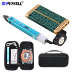 3D Pen LED Screen Smart 3D Printing Pen Mobile Power Supply USB Charging 3D Pens - My Web Store Shopping