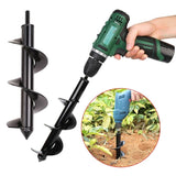 NEW Garden Auger Spiral Drill Bit Flower Planter Digging multiple sizes and depths Used for electric - My Web Store Shopping