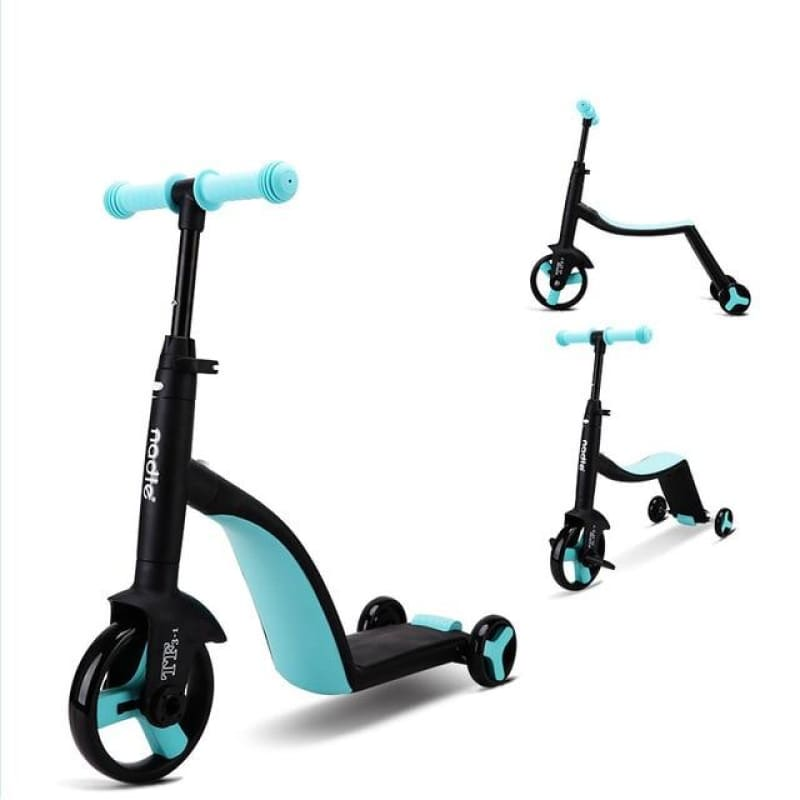 Load image into Gallery viewer, Nadle Children's scooter, tricycle, toy for car, folding, for traveling, suitable for children over - My Web Store Shopping
