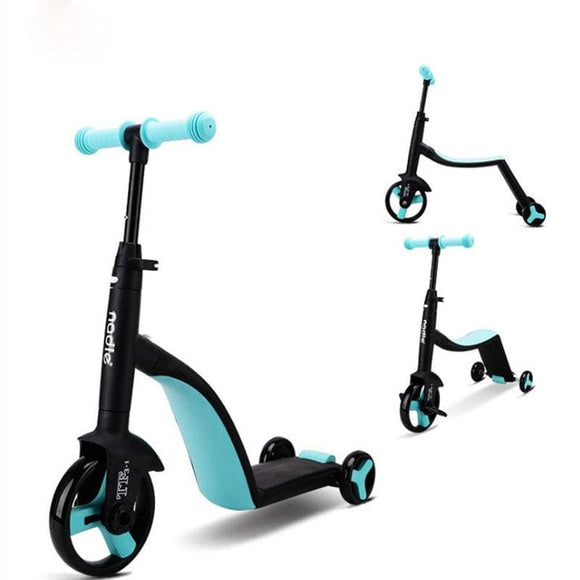 Nadle Children's scooter, tricycle, toy for car, folding, for traveling, suitable for children over - My Web Store Shopping