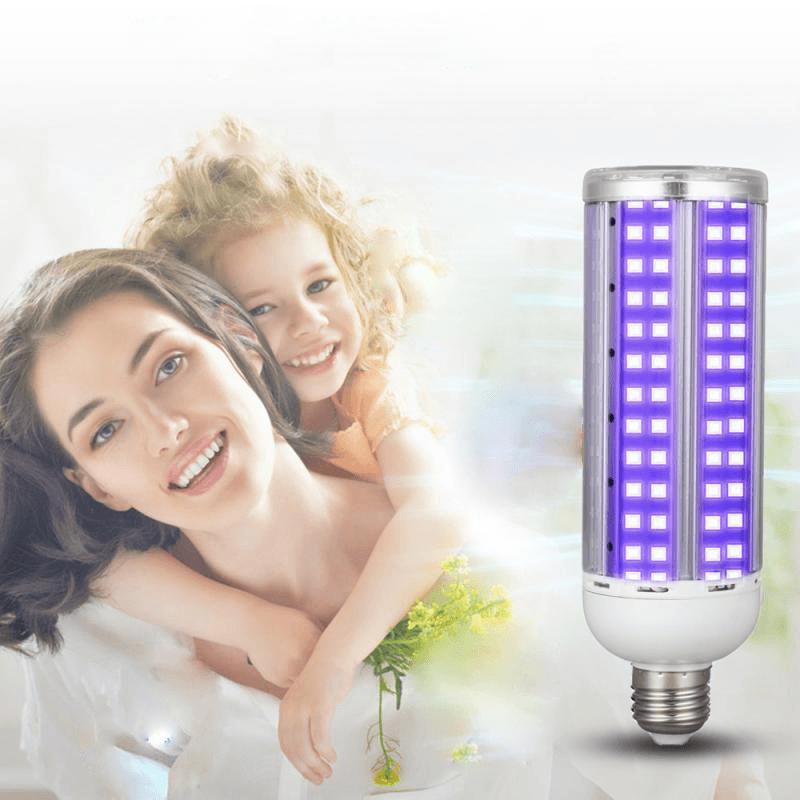 60W UV Germicidal Lamp UVC LED Light Bulb  Ultraviolet Corn Bulb Disinfection Sterilizer - My Web Store Shopping