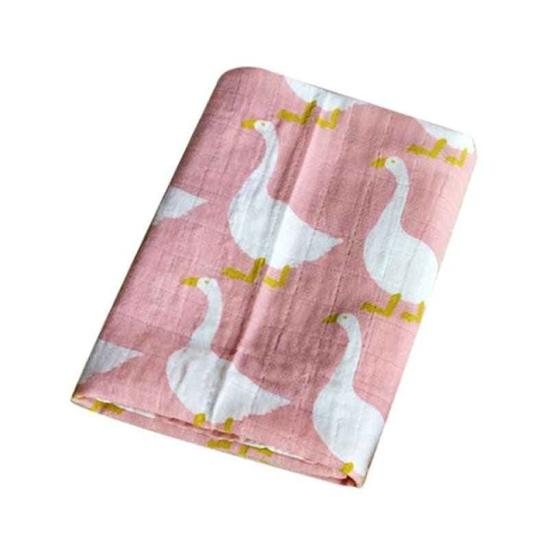 New Cotton Baby Blankets Newborn Soft Organic Cotton Baby Blanket Muslin Swaddle Wrap Feeding Burp - My Web Store Shopping