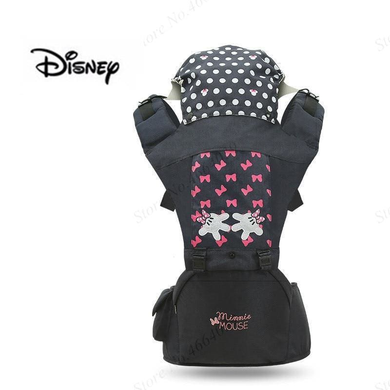 New Disney Summer Breathable Ergonomic Carrier Backpack Portable Infant Baby Carrier With Cap Toddler Hipseat Carrier - My Web Store Shopping