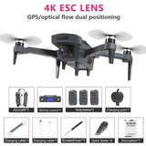 New Drone K20 with brushless motor 5G GPS 4K HD dual camera Professional - My Web Store Shopping
