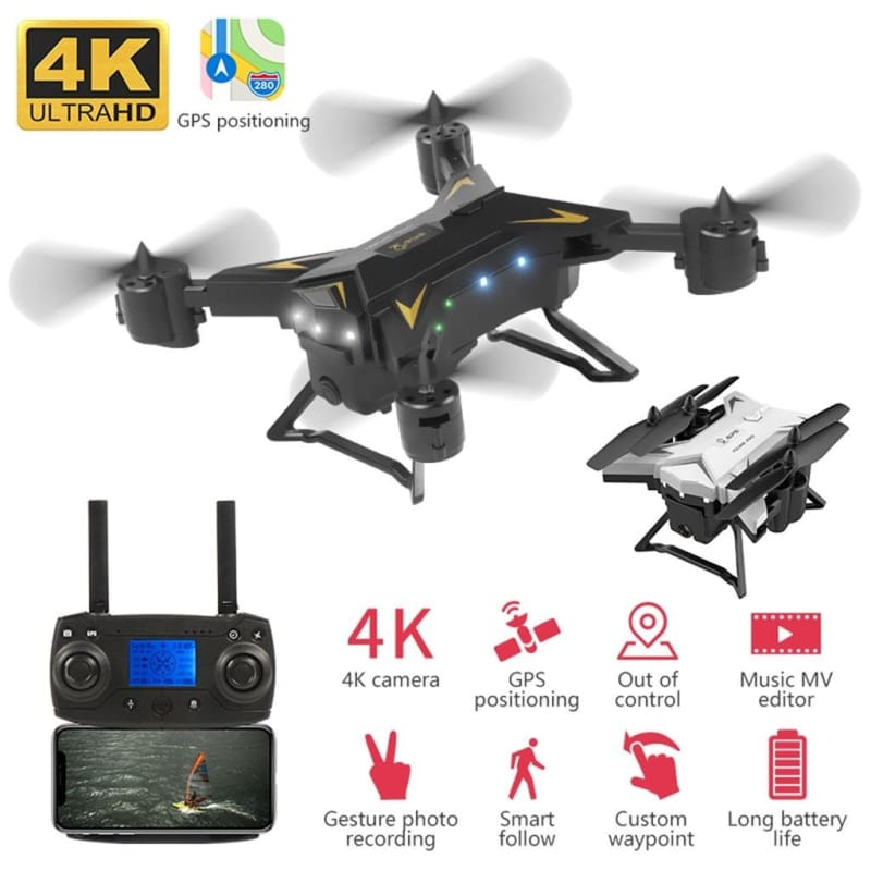 New Pro Foldable GPS Drone KY601G 4K HD Camera 5G WIFI FPV Drone LED 2.4G 4CH 1.8km Long Distance 20 - My Web Store Shopping
