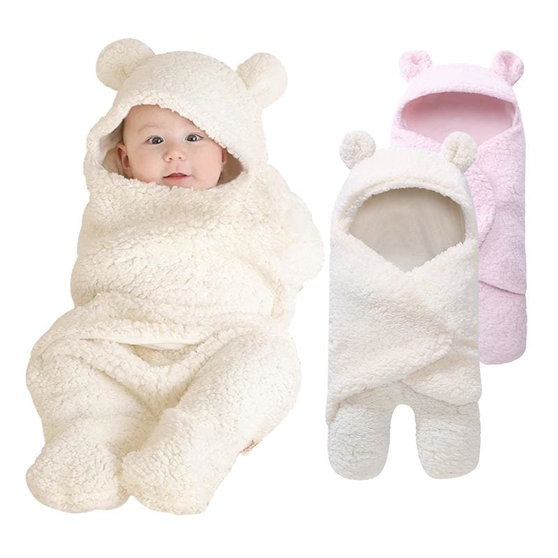 New Soft Baby Blankets Newborn Infant Baby Boy Girl Swaddle Baby Sleeping Wrap Blanket 0-12M - My Web Store Shopping