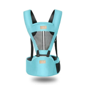 Load image into Gallery viewer, Newborn Baby Carrier Sling Wrap Portable Infant Hipseat Soft Breathable Adjustable - My Web Store Shopping