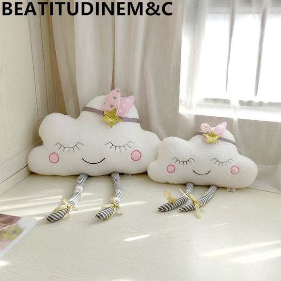 Cloud Pillow Cushion Baby Comfort Toy Home Sofa Children Room Bay Window Home Decoration - My Web Store Shopping