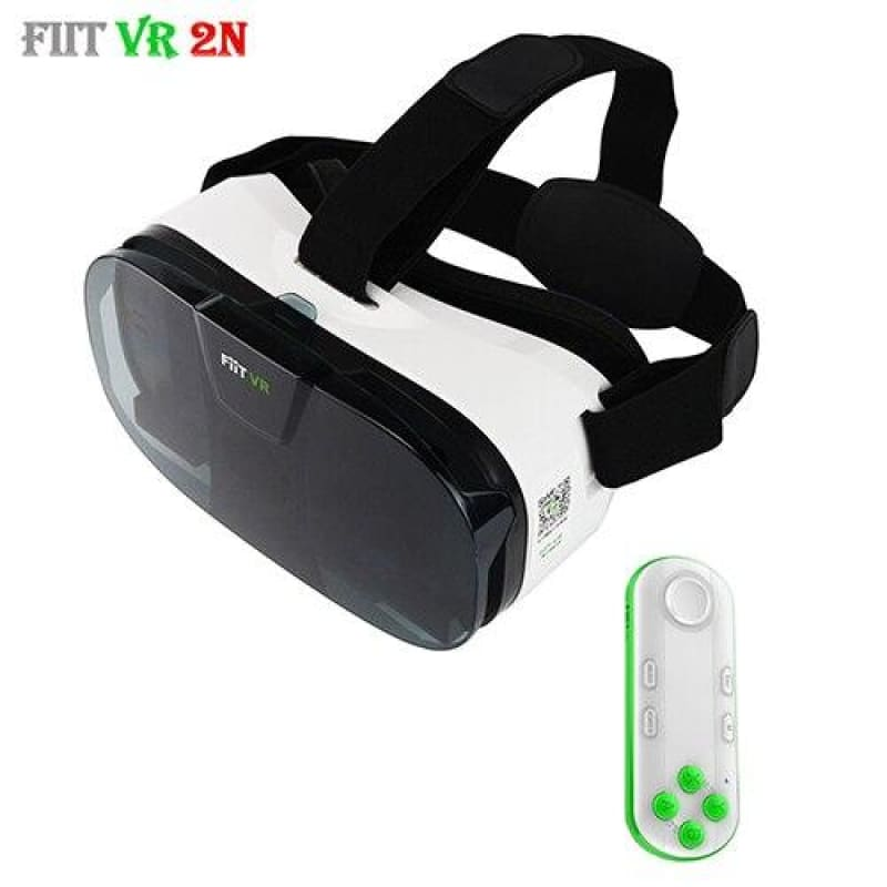 Load image into Gallery viewer, Original Fit 2N 3D Glasses VR Virtual Reality Headset 120 Video Google Glass Cardboard Helmet For - My Web Store Shopping