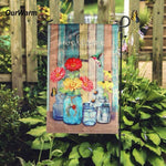 Garden Flag Welcome Sign Flags and Banners Garden Decoration Animal House Flags Home Decoration Accessories - My Web Store Shopping