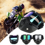 Outdoor Cycling Glasses Windproof/ Anti-fog/anti-UV Ski Glasses Motocross Sunglasses - My Web Store Shopping