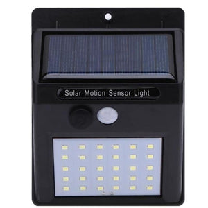Load image into Gallery viewer, Outdoor Sensor Dual Head Solar Security Motion Floodlight Panel Light Lamp - My Web Store Shopping