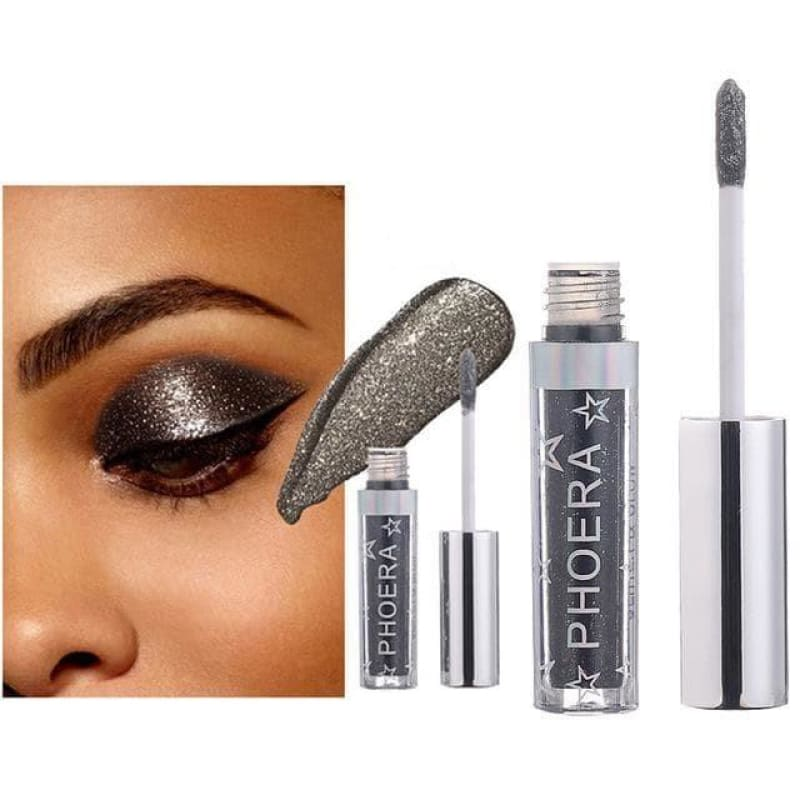 Eye Shadow 12 Color Makeup 1pc Magnificent Metals Glitter and Glow Liquid - My Web Store Shopping