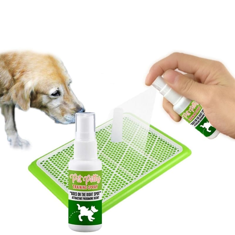 Pet Potty Training Spray Encourages Dogs To Urinate Wherever The Product Sprayed Doggy Pee Training - My Web Store Shopping