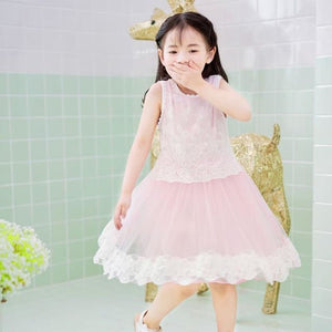 Pettigirl Summer Light Pink Tutu Dress Toddler Girls Kids Party Clothes Baby Girl Frocks GD50325-10 - My Web Store Shopping
