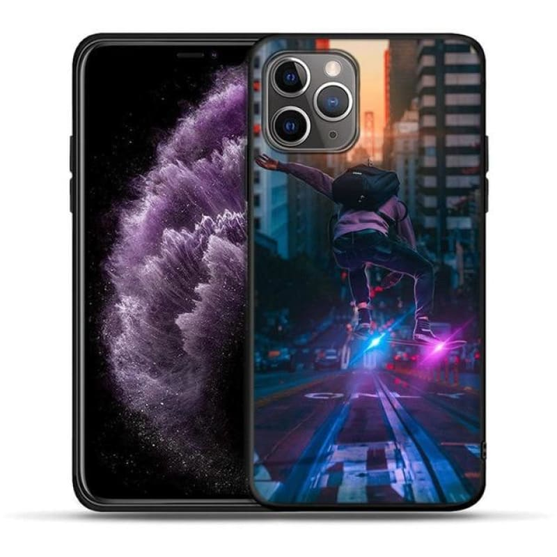 Load image into Gallery viewer, iPhone X XR XS 11 Pro Max 8 7 6 6S Plus Street Brand Boy Girls Cover For iPhone 5 5S - My Web Store Shopping