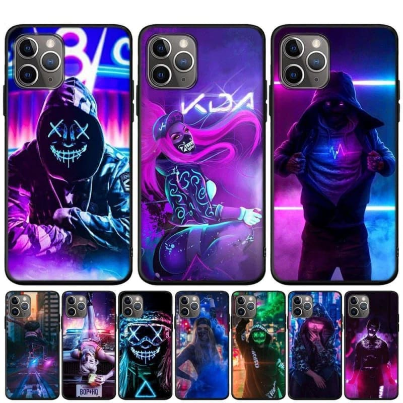 iPhone X XR XS 11 Pro Max 8 7 6 6S Plus Street Brand Boy Girls Cover For iPhone 5 5S - My Web Store Shopping