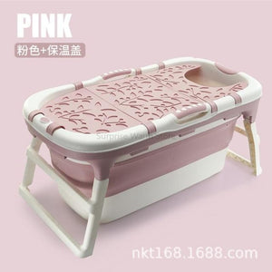 Load image into Gallery viewer, Portable Folding Bathtub for Kids Adults High Quality Bath Tub Eco-friendly PP TPE Plastic Tub - My Web Store Shopping
