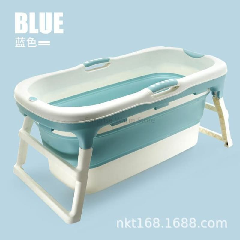 Portable Folding Bathtub for Kids Adults High Quality Bath Tub Eco-friendly PP TPE Plastic Tub - My Web Store Shopping