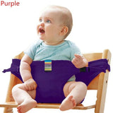 Cotton Baby Dinning Chair Safety Belt,Portable Seat Lunch Chair Seat Stretch Wrap - My Web Store Shopping