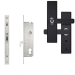 Fingerprint Lock Smart Card Digital Code Electronic Door Lock Home Security Mortise Lock Wire - My Web Store Shopping