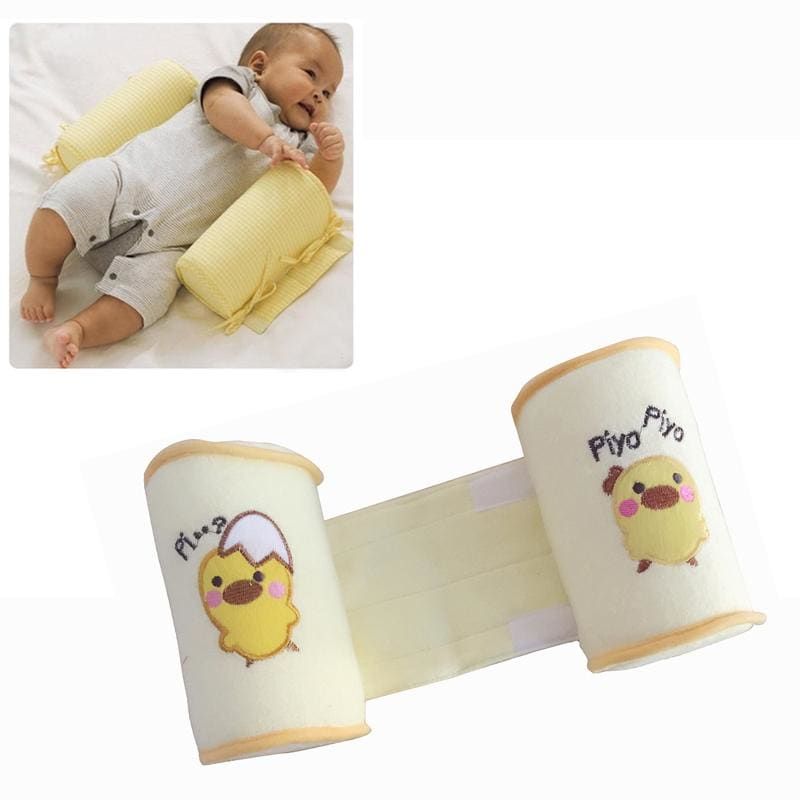 Retail Cute baby sleeping shaping pillow toddler cotton anti roll sleep - My Web Store Shopping