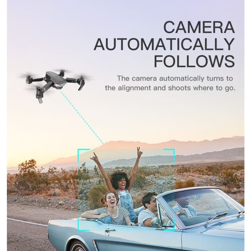 Load image into Gallery viewer, Drone RC FPV Drone Quadcopter Optical Flow 4K Dual Camera Gestures Photo Video RC Quadcopter - My Web Store Shopping