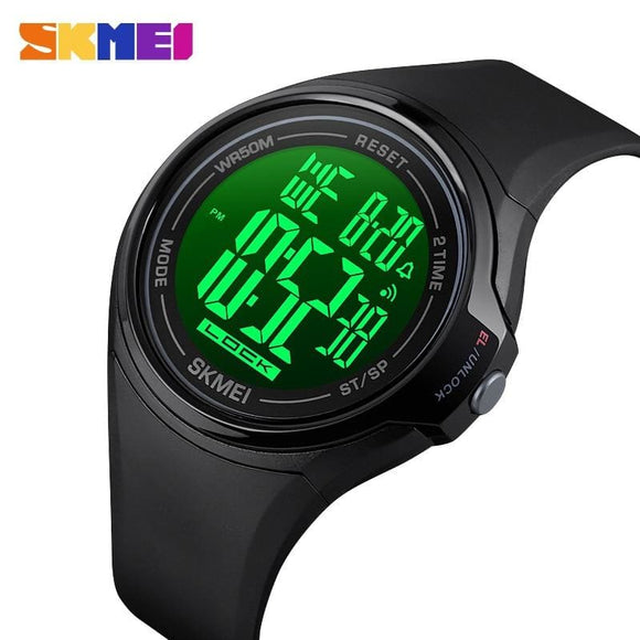 Sport Digital Men Watches Science Fiction Style Touch Screen Operation Waterproof LED Light - My Web Store Shopping