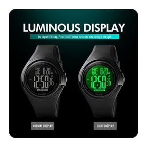 Load image into Gallery viewer, Sport Digital Men Watches Science Fiction Style Touch Screen Operation Waterproof LED Light - My Web Store Shopping
