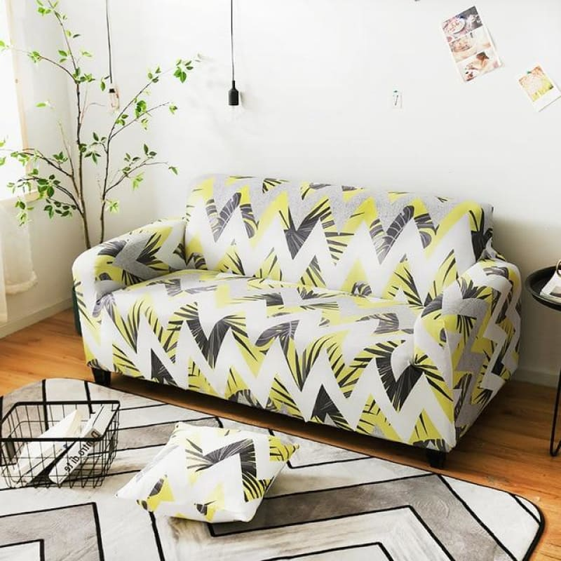 Load image into Gallery viewer, Stretch Sofa Cover Cotton Elastic All-inclusive Armchair Corner Sofa Covers for Living Room Home - My Web Store Shopping