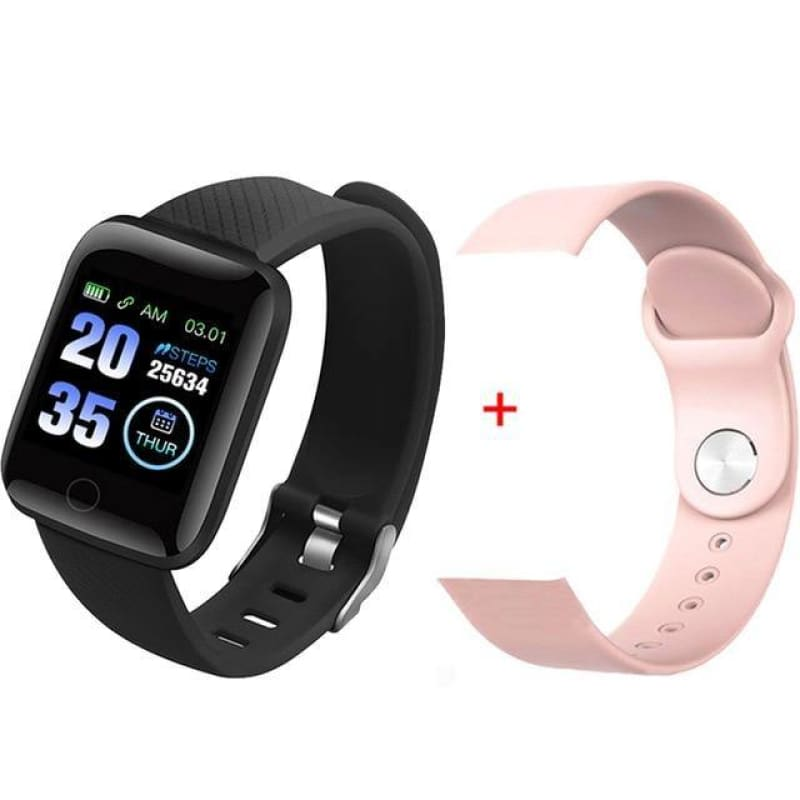 Smart Watch Men Women Smartband Blood Pressure Measurement Waterproof Fitness Tracker Bracelet Heart Rate Monitor - My Web Store Shopping