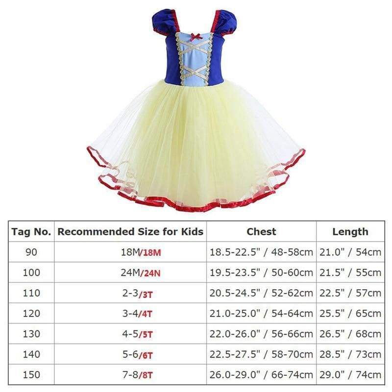 Princess Dress for kids Baby Ball Gown Tulle Dress Girls Birthday Party Costume Cute Girls Clothes - My Web Store Shopping