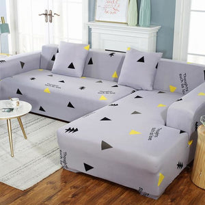 Load image into Gallery viewer, Sofa Cover Elastic Couch Cover for Sofa Sectional L Shaped Sofa Cover Chaise Longue Stretch Sofa - My Web Store Shopping