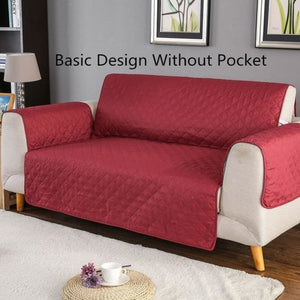 Load image into Gallery viewer, Sofa Covers Quilted Throw Waterproof Slip Cover Protector Pet Reversible Washable Removable Armrest - My Web Store Shopping