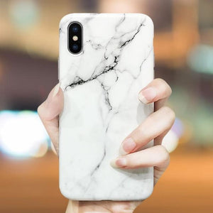 Load image into Gallery viewer, Soft TPU Marble Case on the For Coque iphone 6 7 XS MAX Case Back Cover For iphone 6S 7 8 Plus iphone X XR Case Cover Phone Case - My Web Store Shopping
