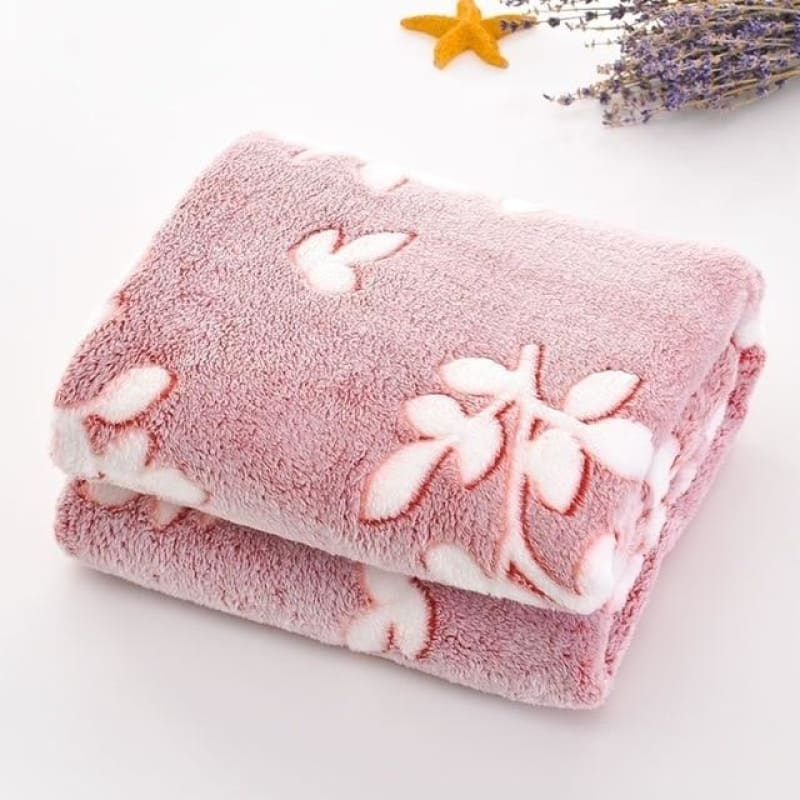 Summer Towel Quilt Blanket Solo Thin Coral Flannelette Blanket Sheet Office Siesta Carpet Small - My Web Store Shopping