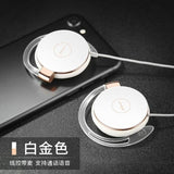 Super Bass Headphones Noise Canceling Headset Ear Hook Music Headphones with Mic For Ipods Computer - My Web Store Shopping