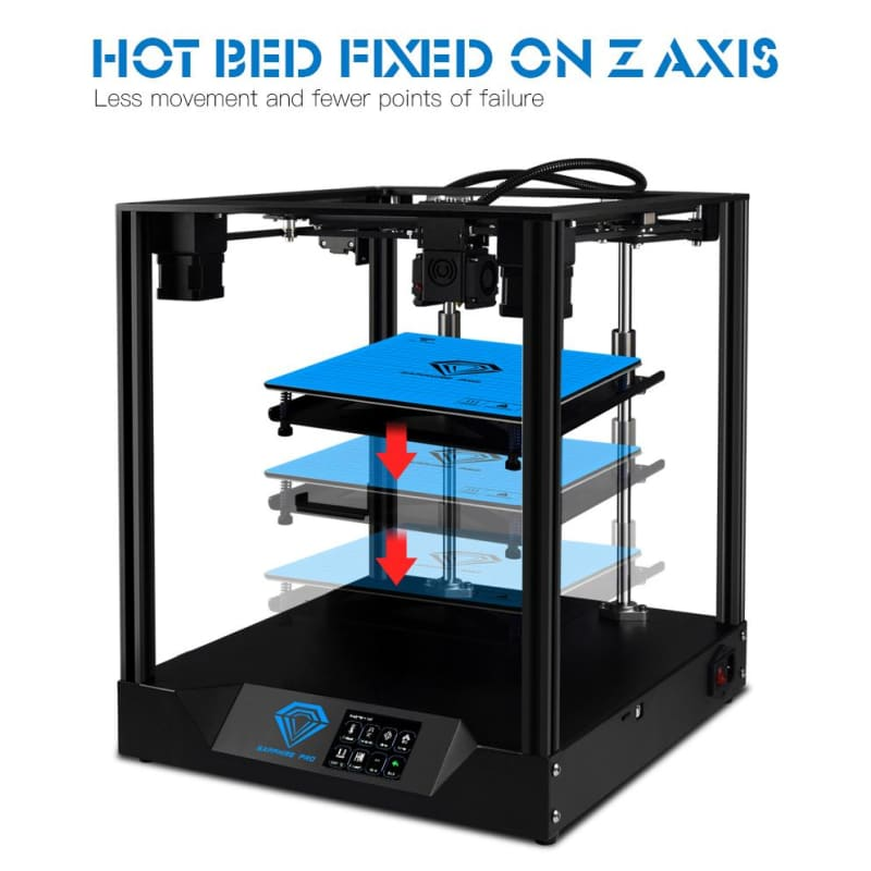 TWO TREES 3D Printer Sapphire pro BMG Extruder CoreXY Aluminium Profile Frame Core xy High-precision - My Web Store Shopping
