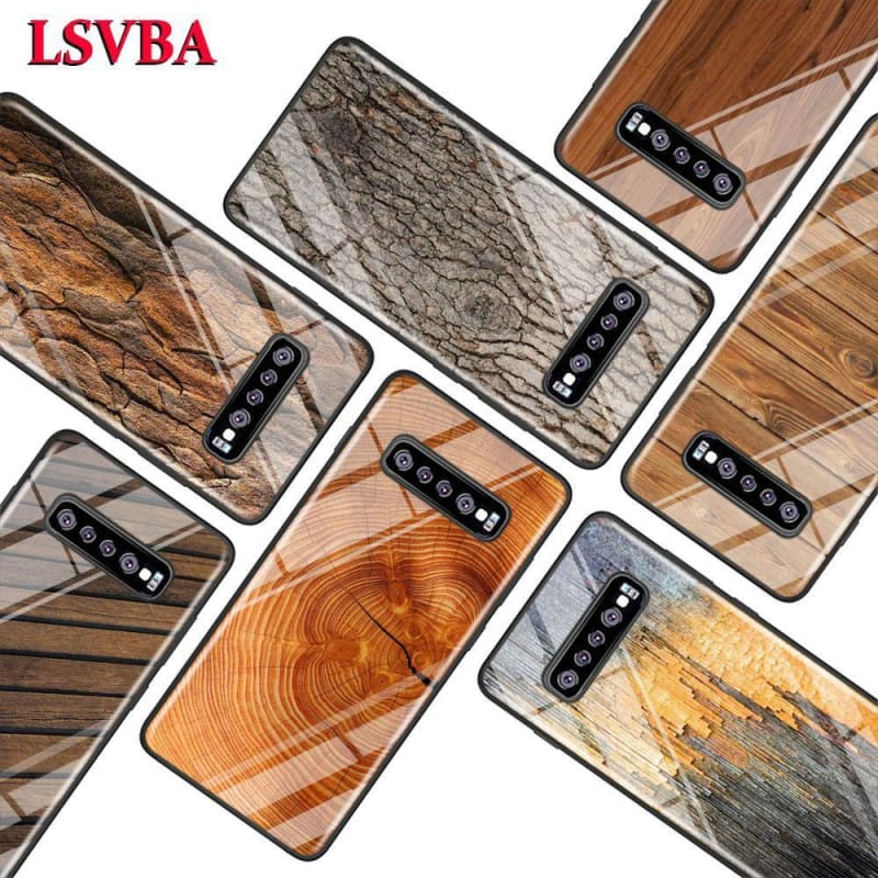Texture Wood for Samsung Galaxy NoteSuper Bright Glossy Phone Case Cover - My Web Store Shopping