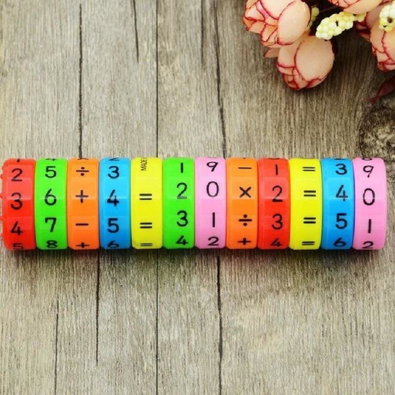 Toddler  Montessori Toys Learning Creative Arithmetic Teaching Plus Subtract Interesting Math - My Web Store Shopping